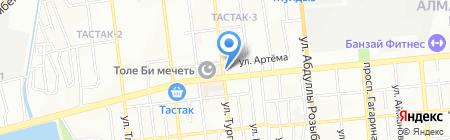 PIZZA LAND FAST FOOD на карте Алматы
