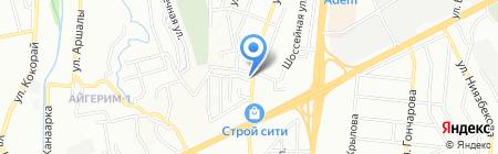 AAAS на карте Алматы