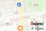 Схема проезда до компании Grand Security в Алматы