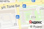 Схема проезда до компании Асар Медикус в Алматы