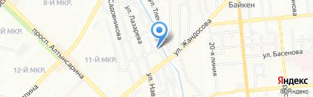 Татра на карте Алматы