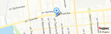 Дом Швейных Машин на карте Алматы