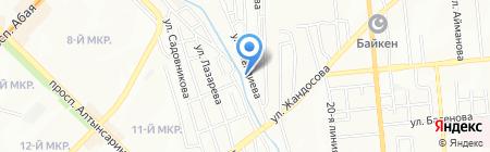 Каз ЭлектроСервес Экспертиза LTD на карте Алматы