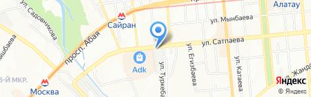 Снаряга на карте Алматы