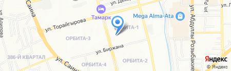 Алматы Домофон сервисно-монтажная фирма на карте Алматы