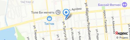 Grand Security на карте Алматы