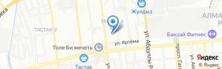 АлматыСервис на карте Алматы
