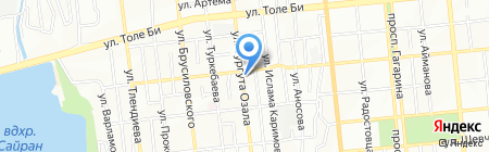 Paradise на карте Алматы