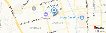 DM Agency на карте Алматы