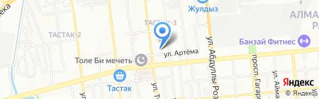 Нефтегазмаш на карте Алматы