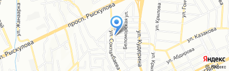 BMW на карте Алматы