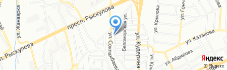 У Валентина на карте Алматы