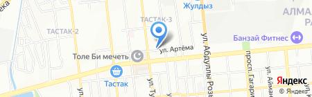 Аят-Т продуктовый магазин на карте Алматы