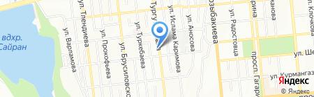 Сахан на карте Алматы