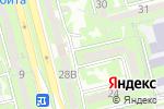 Схема проезда до компании Шалкоде в Алматы