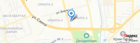 Нотариус Махамбетова Н.Т. на карте Алматы