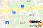 Схема проезда до компании Банк ВТБ (Казахстан), ДО АО в Алматы