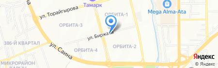 Чистая речь на карте Алматы