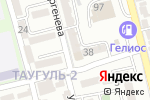 Схема проезда до компании Professional Make-Up School в Алматы