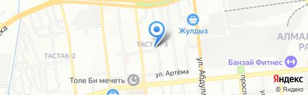 Олимп на карте Алматы