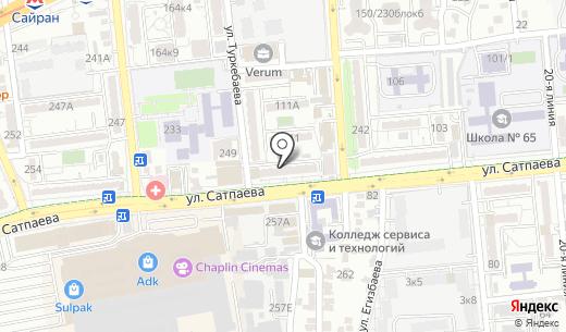 BeerТой. Схема проезда в Алматы