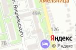 Схема проезда до компании Контакт в Алматы