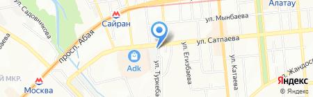 Во.Ка.Нс ТОО на карте Алматы