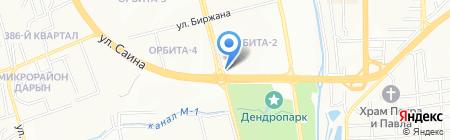 Лепесток на карте Алматы