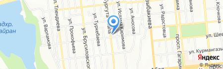 АКСУНКАР на карте Алматы