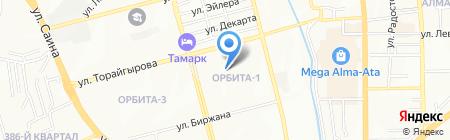 ЦУПП центр устойчивого производства и потребления на карте Алматы