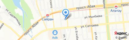 Argon Service Plus на карте Алматы