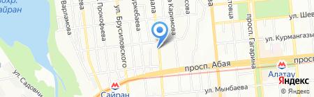Виктория на карте Алматы
