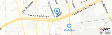 Магазин разливного пива на проспекте Райымбека на карте Алматы