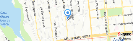 D & N на карте Алматы