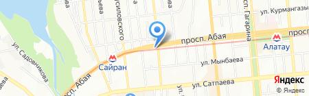 Орхидея на карте Алматы