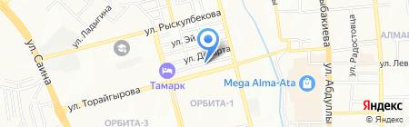 Мухаббат на карте Алматы
