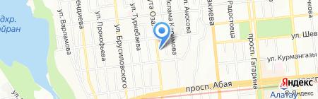 Ай-Аспан на карте Алматы