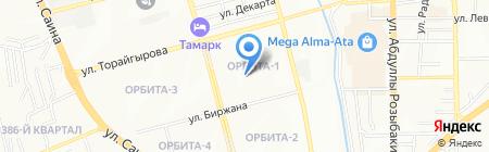 Школа-гимназия №60 на карте Алматы