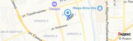SanSan на карте Алматы