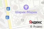 Схема проезда до компании Bonne Chance в Алматы