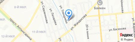 Автосистемы на карте Алматы