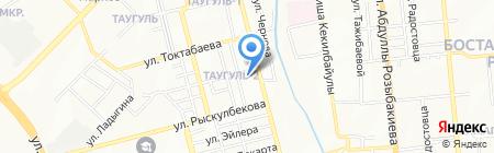 Елена на карте Алматы