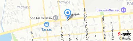 K-mart на карте Алматы