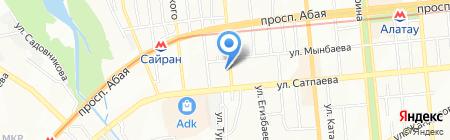 Сардинка на карте Алматы