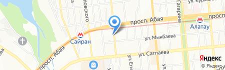 Значки.kz на карте Алматы
