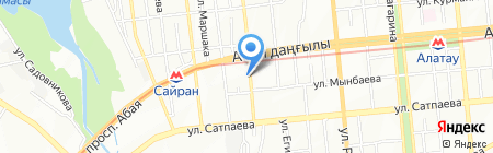 Этуаль-декор на карте Алматы