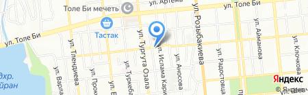 Центр восточной медицины на карте Алматы