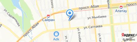 Al-madat на карте Алматы