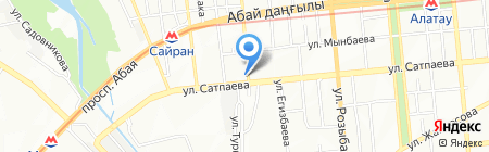 Sugar Life на карте Алматы