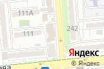 Схема проезда до компании Кереге в Алматы